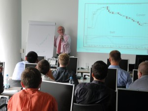 Trevor Neil teaching trading techniques