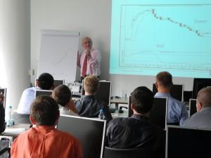 Trevor Neil teaching trading techniques